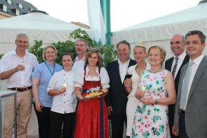 Bayerisches Genussfestival auf dem Odeonsplatz 2013 Gruppenbild