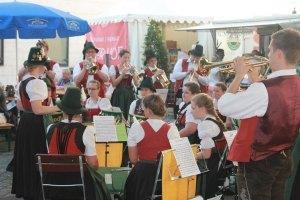 Blasmusik zum Fränkischen Weinfest Alter Hof München