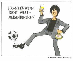 Frankenwein ischt weltmeisterlich! Dieter Hanitzsch