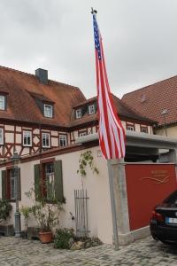 Geburtshaus  des  F.D.  Pastorius - Pastoriushaus-Sommerhausen-Weingut-Steinmann